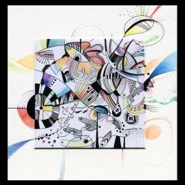 <br>NOAH'S OAK <span style='color: #99AEC0'>- CARRÉ MAGIQUE N°3</span><br> <span style='color: #5E7C98'>21x21 cm, encre de chine et crayons de couleur -</span> <em><span style='color: #00CB65;font-size: 10px;'>DISPONIBLE</span></em><br><br>