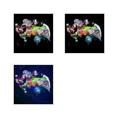 <br>ÉTAPE N°4 : Inversion de couleur, travail de variations et de lumières... et enfin la signature !<br><br>