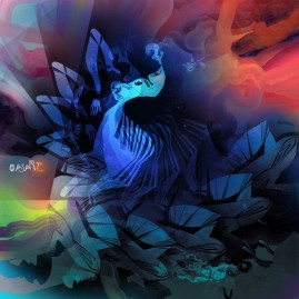 <br><em>SYNCOPE <span style='color: #99AEC0'>- PEINTURE NUMÉRIQUE</span></em><br> <span style='color: #5E7C98'>Peinture numérique, tirage sur mesure sur papier (digigraphie) ou métal (subligraphie)</span><br/> En vente prochainement sur <a href='https://amandineledu.art/commande' rel='noopener' target='_blank' class='btnjaune'>LA BOUTIQUE</a> en ligne<br/><br/> <span style='color: #5B6F95;'>Danse syncopée de fin du monde : naissance du jour à nouveau.</span><br><br>