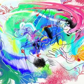 <br><em>(R)ÊVE <span style='color: #99AEC0'>- PEINTURE NUMÉRIQUE</span></em><br> <span style='color: #5E7C98'>Peinture numérique, tirage sur mesure sur papier (digigraphie) ou métal (subligraphie)</span><br/> En vente prochainement sur <a href='https://amandineledu.art/commande' rel='noopener' target='_blank' class='btnjaune'>LA BOUTIQUE</a> en ligne<br/><br/>