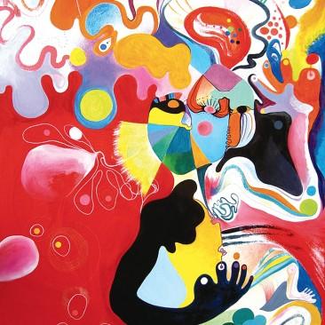 <br>MADAGASCAR <span style='color: #5E7C98'>- Acrylique sur toile -</span> <em><span style='color: #FF8D00;font-size: 10px;'>PAS À VENDRE</span></em><br><br>